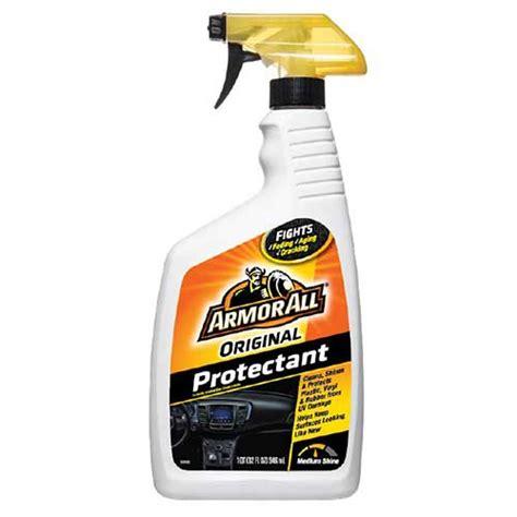 car upholstery protection spray armorall 32oz protectant spray l m fleet supply