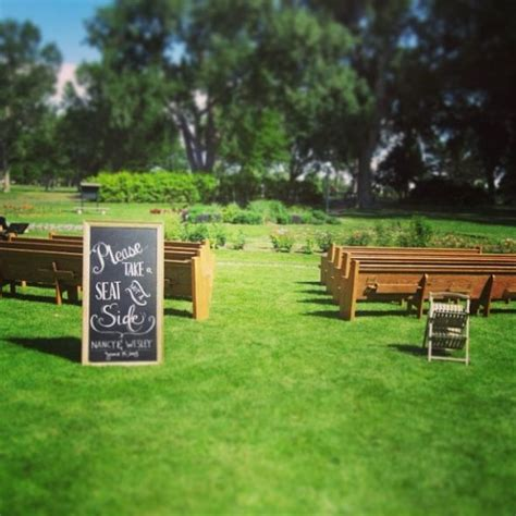 wedding benches for rent colorado brides trying to find bench seating or pews for