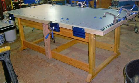 workshop assembly table plans woodworking projects plans