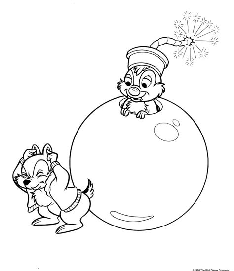 chip and dale coloring pages az coloring pages