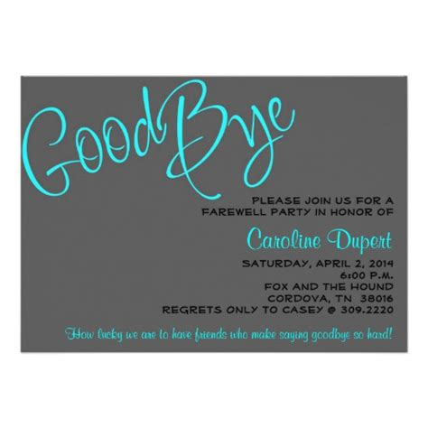Invitation Letter For Farewell Most Popular Farewell Invitations Custominvitations4u
