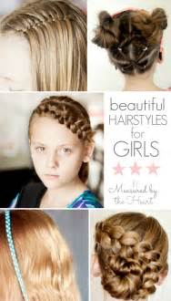 Beautiful hair tutorials for girls by measured by the heart