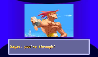 Ending for Street Fighter Alpha 2-Adon(Arcade)