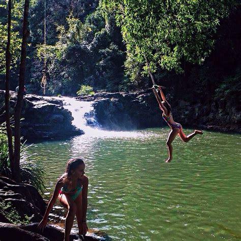 rope swing gold coast 9 secret swimming holes to escape brisbane s heat