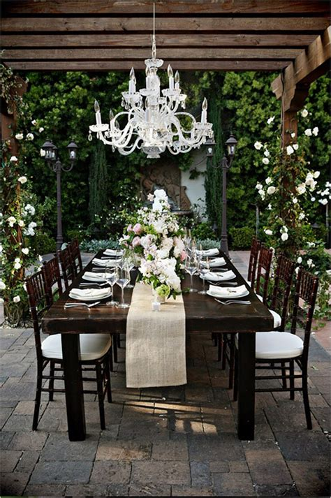 how to set up a backyard wedding long wedding table ideas belle the magazine