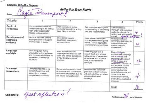 10 reflective essay examples samples pdf