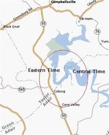 usa time zone anomalies part ii 187 twelve mile circle