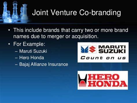 exle of joint venture branding strategies brand myopia