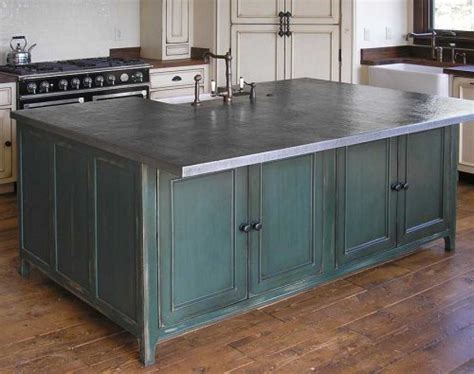 zinc table top pros and cons metal countertops choices and considerations