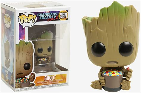 Funko Pop Marvel Guardians Of The Galaxy Groot Ravagers funko marvel guardians of the galaxy vol 2 funko pop marvel groot exclusive vinyl bobble