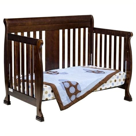 4 In 1 Crib With Changing Table Davinci Porter 4 In 1 Convertible Crib With Changing Table In Espresso M8501q M8555q Pkg
