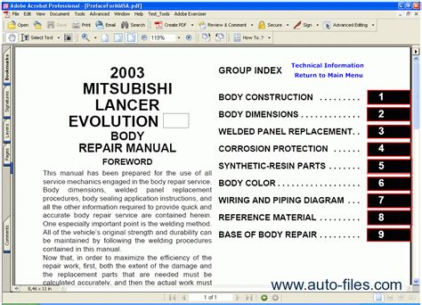 auto manual repair 2003 mitsubishi lancer electronic toll collection mitsubishi lancer evolution 2003 repair manuals download wiring diagram electronic parts