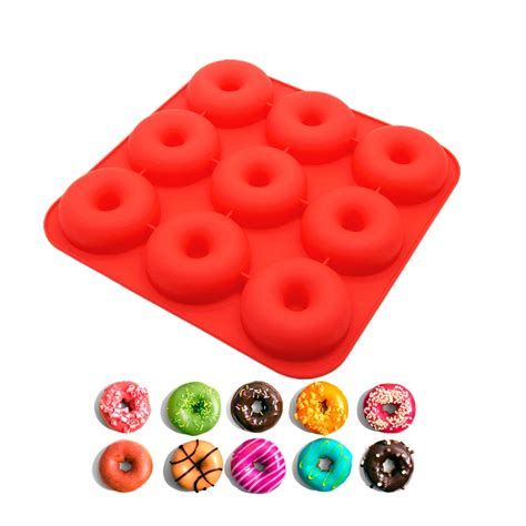 Silicone Donuts Mold china silicone donut baking pan supplier silicone dount