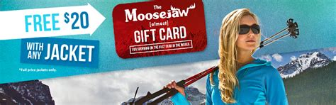 Moosejaw Gift Card - jackets almost gift card