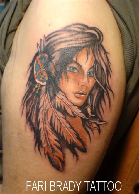 india tattoo fari brady piercing portrait indian