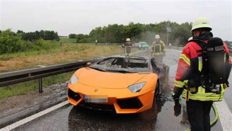 Lamborghini Brennt by A81 Bei B 246 Blingen Hulb Lamborghini Brennt Komplett Aus