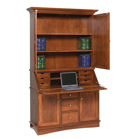 Secretarial Desk Grand Desk Amish Crafted Furniture