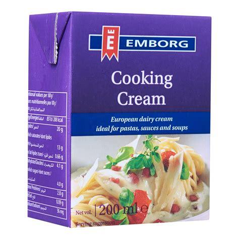 emborg cooking 200ml from redmart