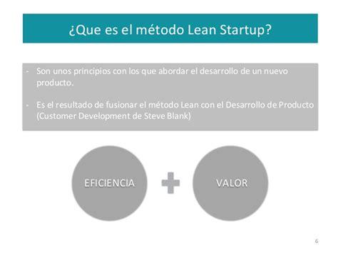 el mtodo lean startup intr m 233 todo lean startup