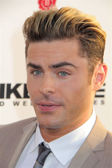 what haircut styles does zac efropn have zac efron hairstyles