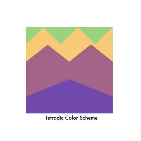 tetrad color scheme 15 best tetradic color schemes images on color