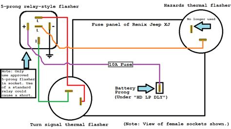 5 pin flasher relay wiring diagram efcaviation