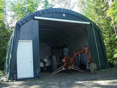 How To Build A Tarp Shed by Tarp Garage Smalltowndjs