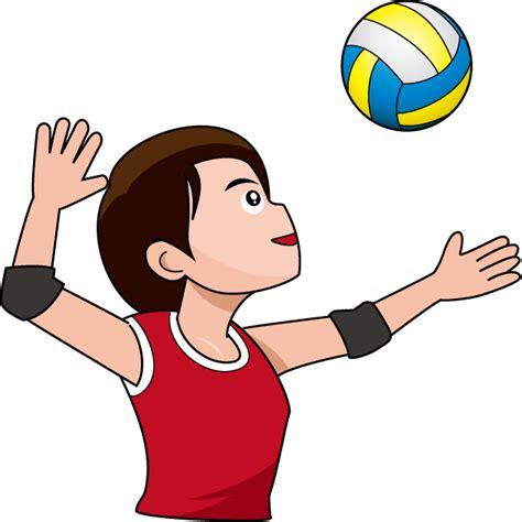 clipart pallavolo volley clipart battuta pallavolo