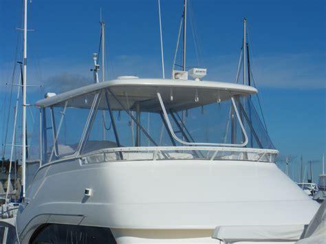 boat upholstery perth flybridge clears using strataglass2 prestige marine