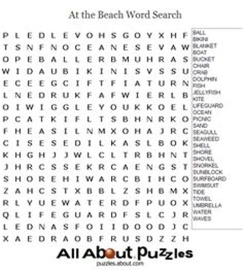printable word search beach food word search for kids printable word search puzzle