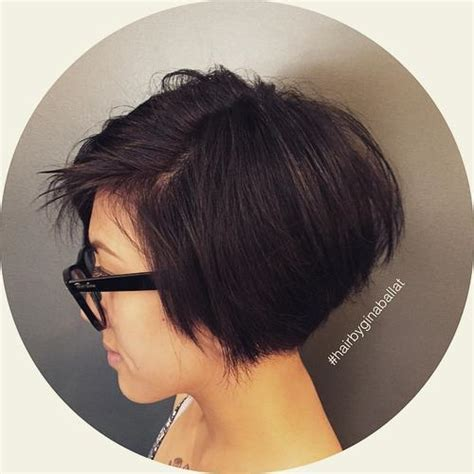 graduated bob with side parting and fringe 40 hottest graduated bob hairstyles right now styles weekly