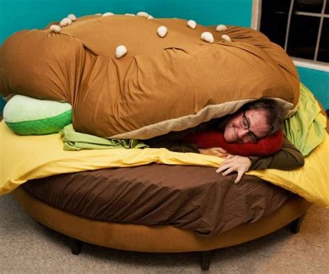 cheeseburger bed high fat diets make you feel sleepy during daytime ruin