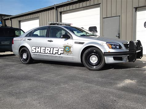 Door County Sheriff by Squad Car Upfitting Frank S Radio Service Motorola Two Way Radio Dealer Manitowoc Northeast