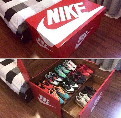 nike shoe box stoarge