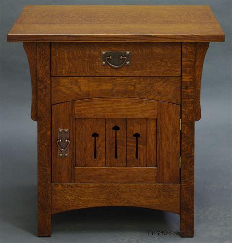 arts and crafts sofas arch door nightstand by dryadstudios