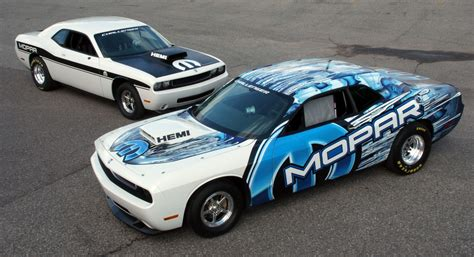 Dodge Racing Cars by Mopar Reveals Dodge Challenger Drag Race Package Cars At