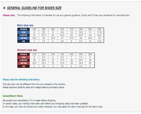 korean shoes size 260 style guru fashion glitz style unplugged
