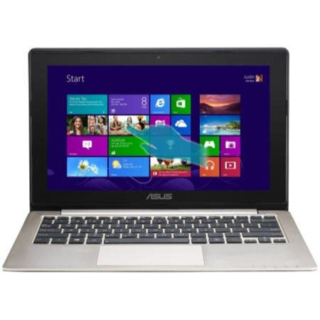 Laptop Asus I3 11 6 Inch refurbished grade a1 asus vivobook x202e i3 3217u 4gb 500gb 11 6 inch windows 8 touchscreen