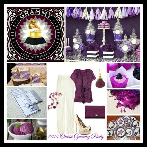 Grammy Award Decorations by 2014 Orchid Grammy
