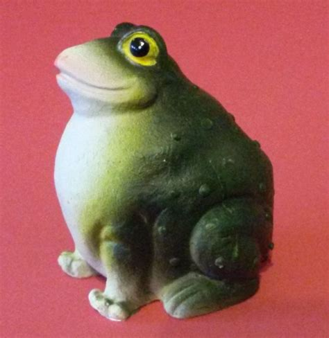 New Puff by New Puff Animal Figurine Frog Resin 3 Quot Indoors