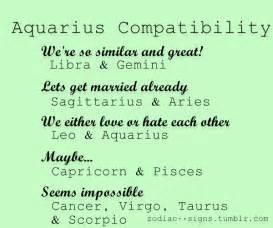 aquarius compatibility um i married a scorpio ha ha