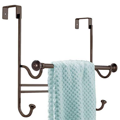 bathroom door hooks for towels mdesign bathroom over shower door towel bar rack with