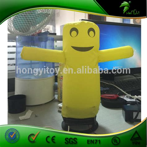 mini inflatable tube man for desk new mini advertising inflatable desktop air dancer small