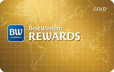 best western card best western rewards gold level card