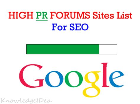 high pr pligg sites 70 high pr dofollow forum sites list knowledgeidea