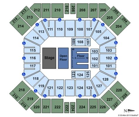 pan american center seating chart pan american center tickets in las cruces new mexico pan