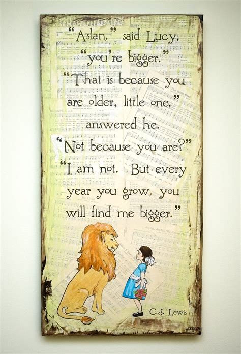 thank god i grew up in chowchilla books aslan and picture my narnia cs