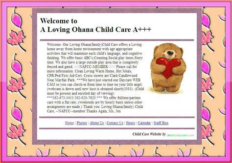 daycare advertising exles daycare block preschool kids