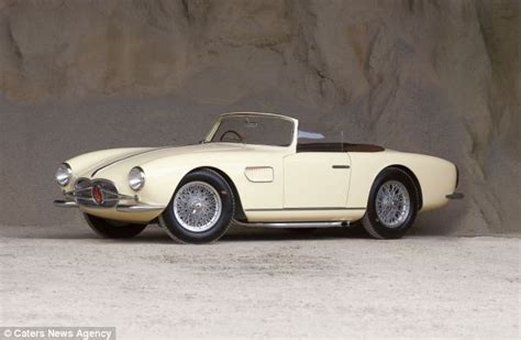 vintage maserati convertible drive away in a rocket incredibly 1957