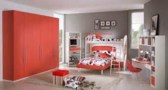 Bedroom Colors For Teenage Girls Red Passion Teen Room Color Scheme Iroonie Com